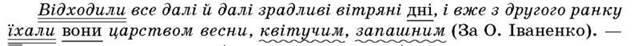 Прямий та зворотний порядок слів у реченні   Речення