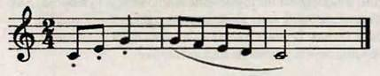 Ліга, фермата. Робота над піснею Колискова майбуття. Слухання музики. Дж. Гершвін. Колискова з опери Поргі і Бес