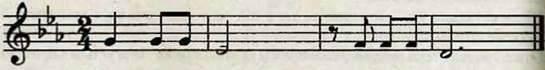 Ритмічне рондо, використання у вправі. Робота над піснею Шкільна стежина. Слухання музики. Л. ван Бетховен. Симфонія № 5. Тематичне опитування
