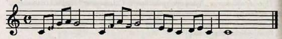 Чотиридольний розмір, тактування. Робота над піснею Ой у лузі червона калина. Слухання музики. Г. Сковорода. Всякому городу прав і праве