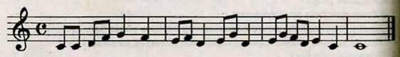 Сольфеджування вправи у розмірі 4/4. Робота над піснею Музика землі А. Житкевича. Слухання музики. Пряля та Щедрик в обробці М. Леонтовича