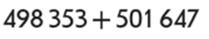 Додавання і віднімання багатоцифрових чисел