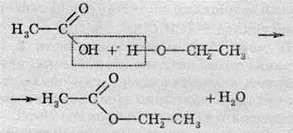 Хімічні властивості карбонових кислот