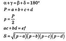 Вписаний чотирикутник   ЧОТИРИКУТНИКИ