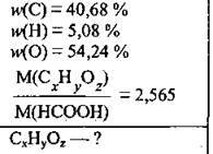 Виведення формули сполуки   Приклади розвязування типових задач