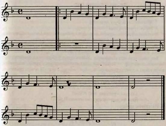 Музична фактура. Поліфонія. Гомофонія. Робота над піснею Степом, степом. Слухання музики. Й. Бах. Органна фуга ля мінор