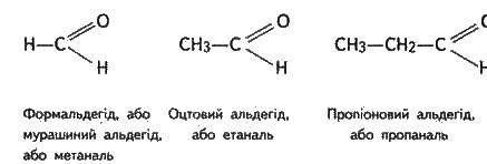 Альдегіди   КИСНЕВМІСНІ ОРГАНІЧНІ СПОЛУКИ