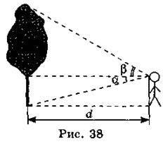 Застосування розвязування трикутників у прикладних задачах