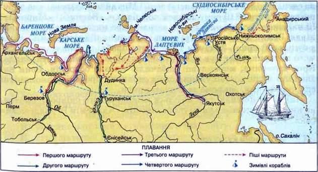 Експедиції XVIII XIX ст. Діяльність географічних товариств