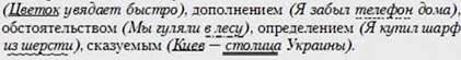 Имя существительное как часть речи: общее значение, морфологические признаки, синтаксическая роль. Существительные одушевленные и неодушевленные