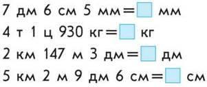 Додавання і віднімання іменованих чисел
